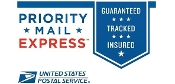 $25.00 Additional - USPS Express Guaranteed Shipping 1-2 Days